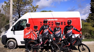 Checkt die SRAM Young Guns!